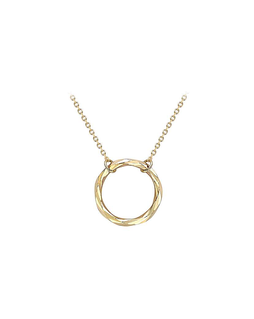 Simply Be 9Ct Gold Ring Necklace