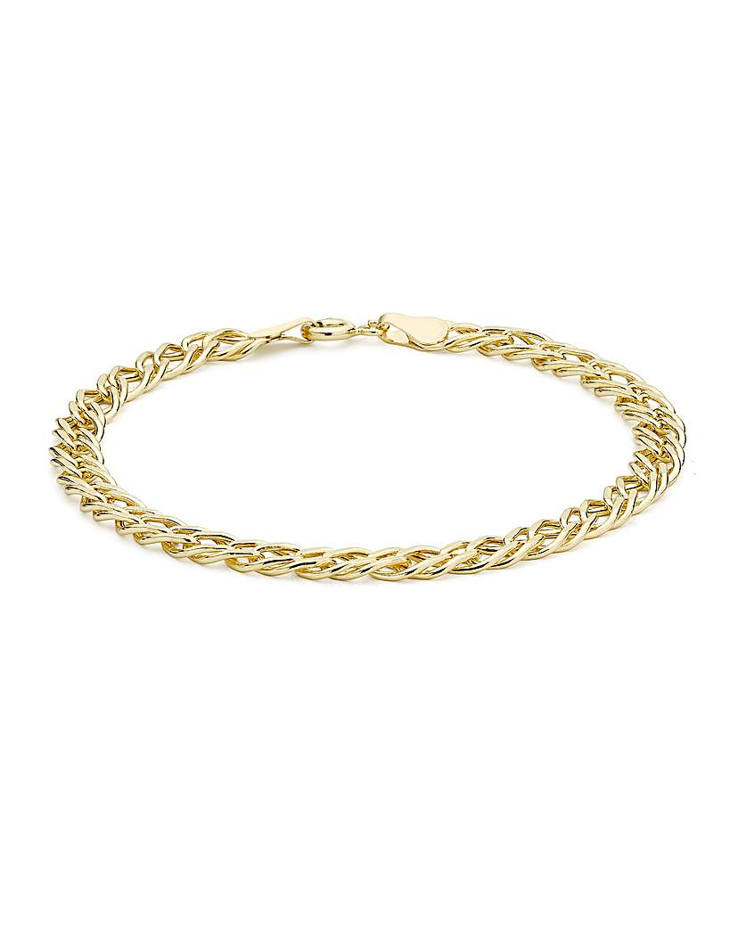 Simply Be 9Ct Gold Curb Chain