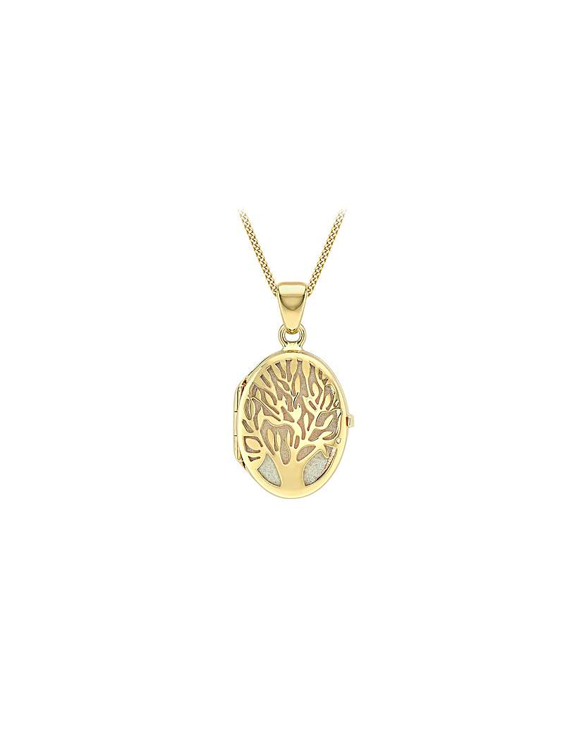 Simply Be 9Ct Gold Tree Of Life Necklace