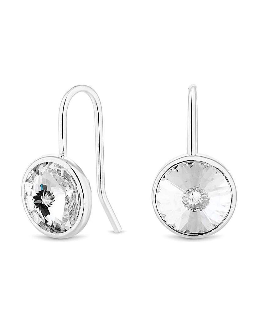 Simply Silver by Jon Richard Simply Silver Besel Drop Earring
