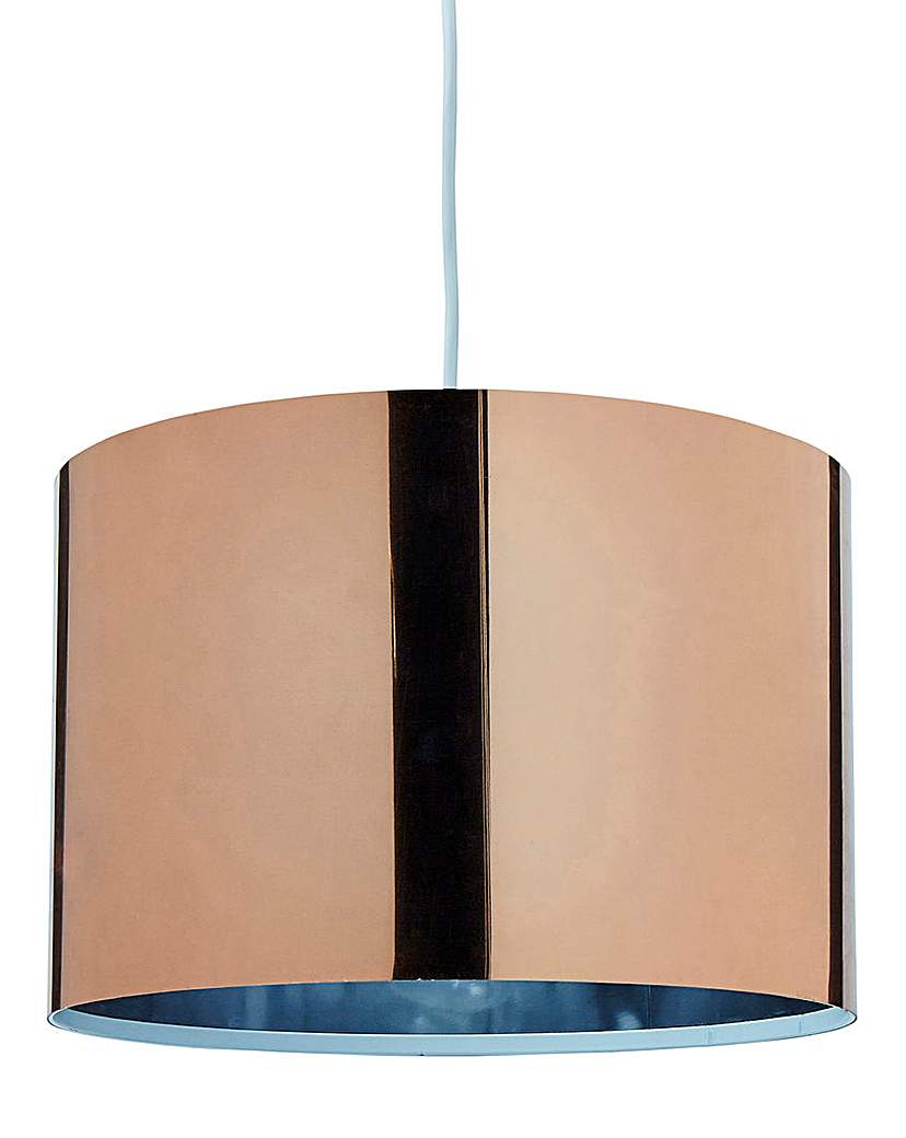Image of Brooklyn Copper Shiny Pendant Shade