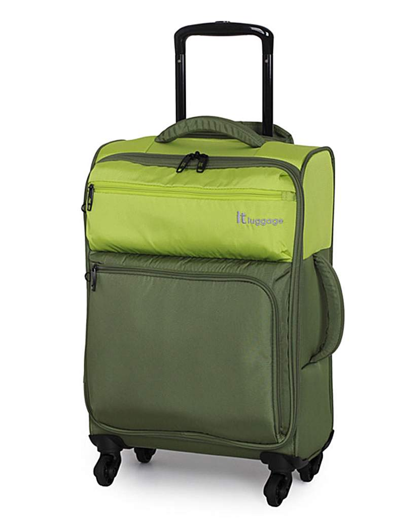 IT Luggage 48.5cm Cabin Suitcase  Lime