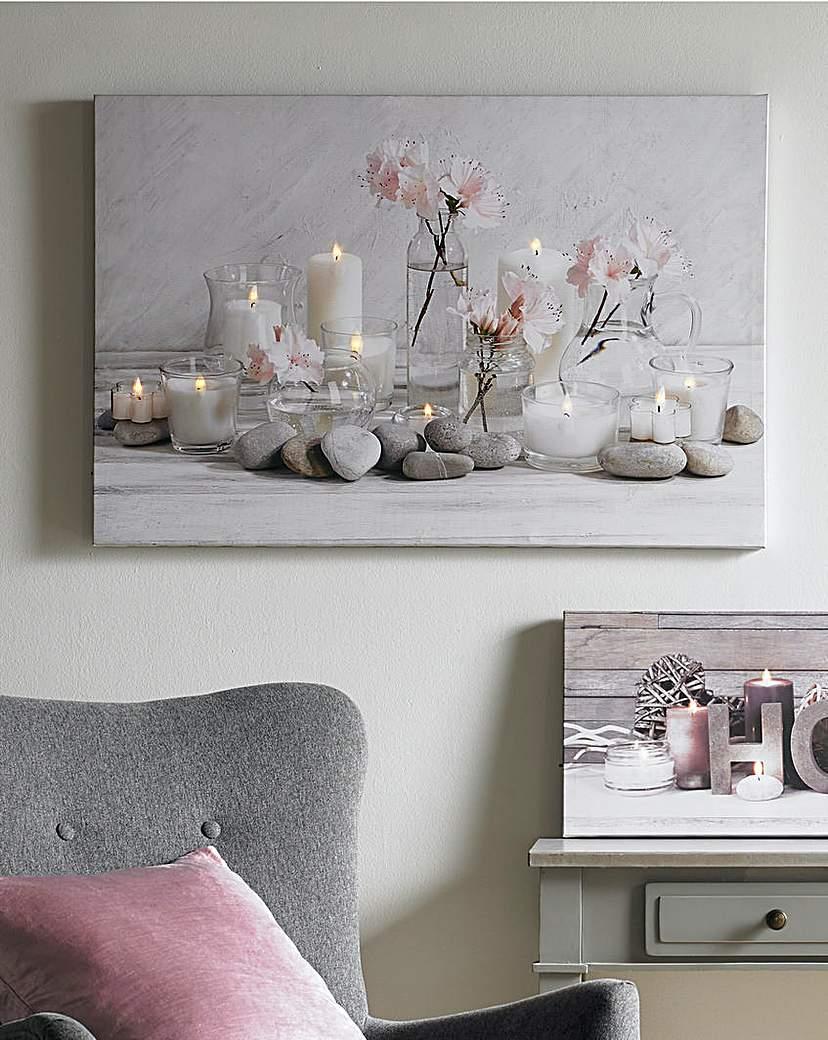 Home Serenity Led LED Canvas