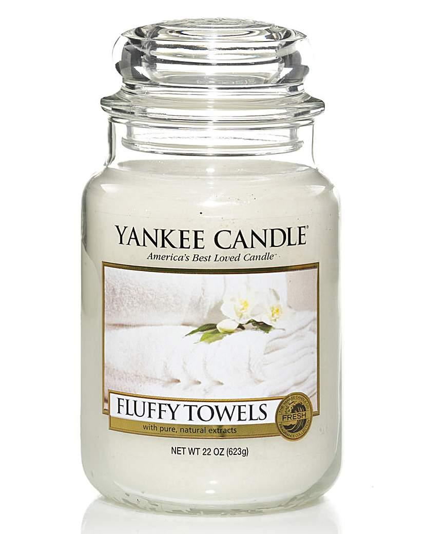 Yankee Candle Yankee Candle Fluffy Towels Large Jar