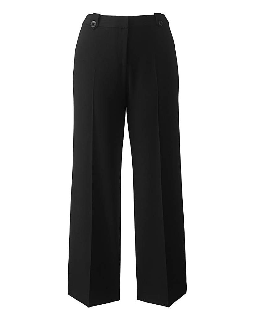 Simply Be Mix & Match Wide Leg Trousers Short