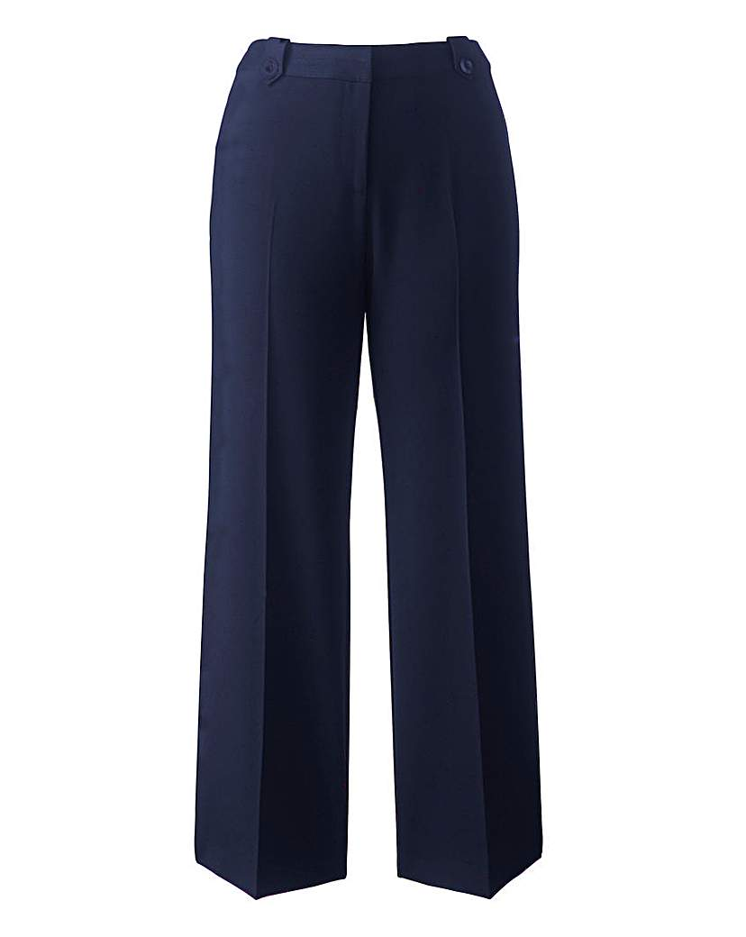 Simply Be Mix & Match Wide Leg Trousers Long