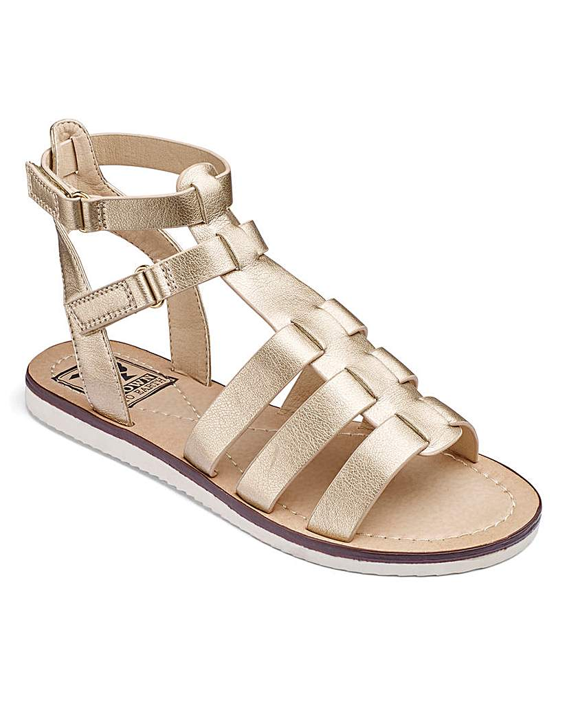 Simply Be Gladiator Sandals D Fit