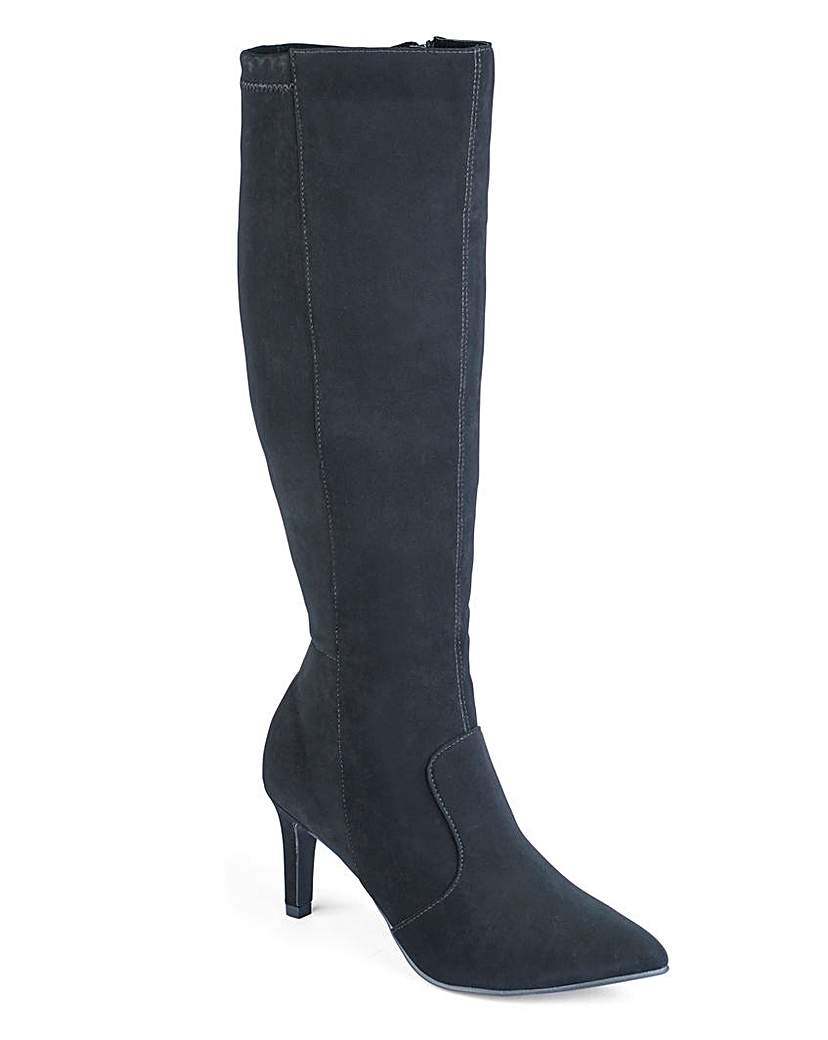 Sole Diva High Leg Stretch Boots EEE Fit
