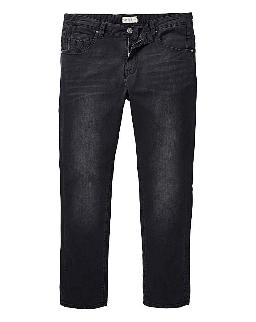 884 Police Black Crane Slim Jean 31 In