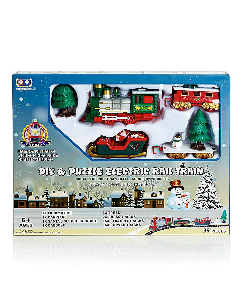 39pc DIY Puzzle Train Track