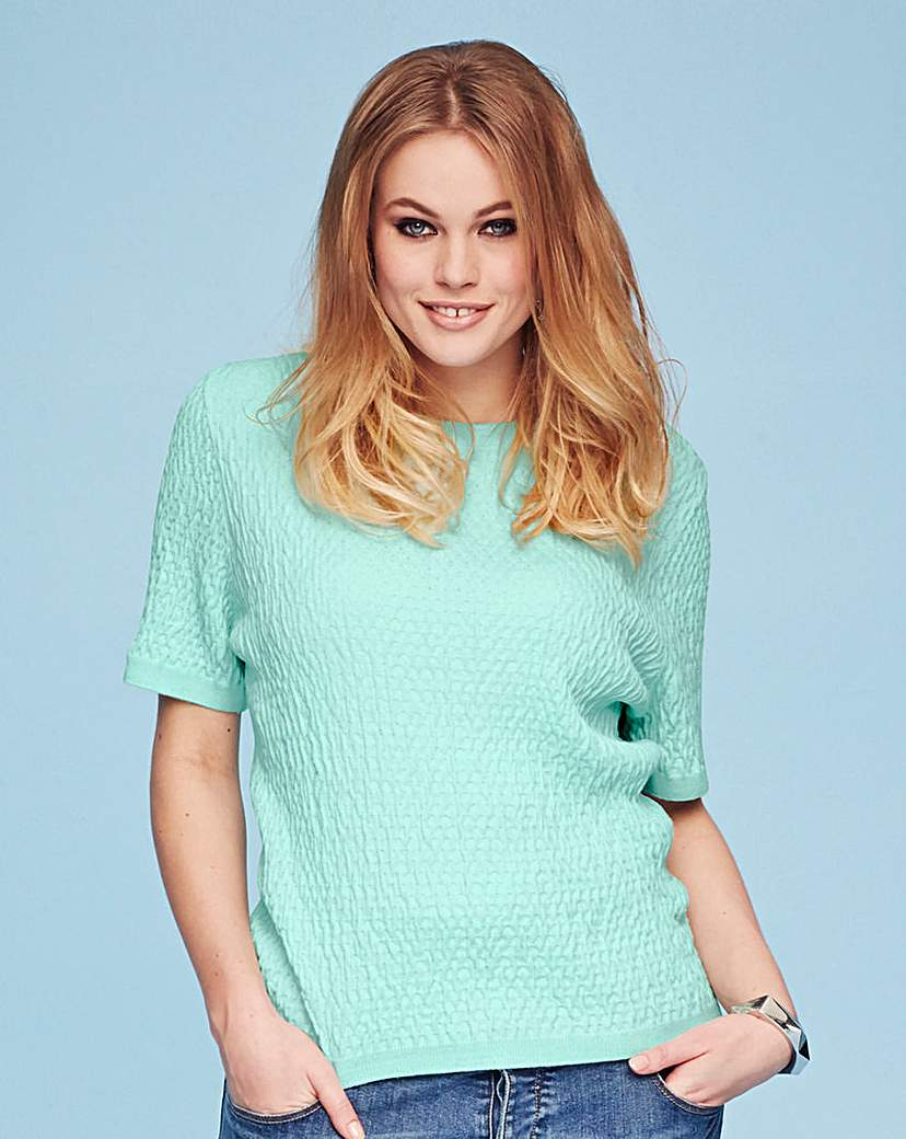Simply Be Crop Textured Jumper