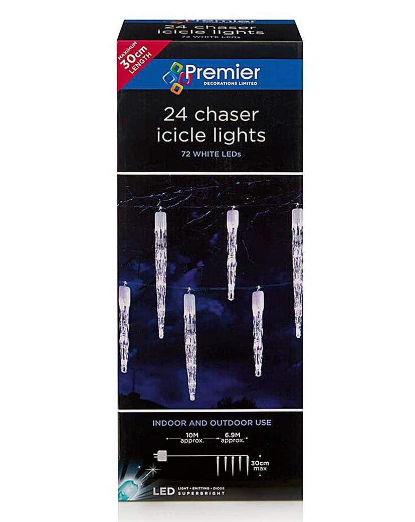Image of 24 Chaser Icicles Outdoor