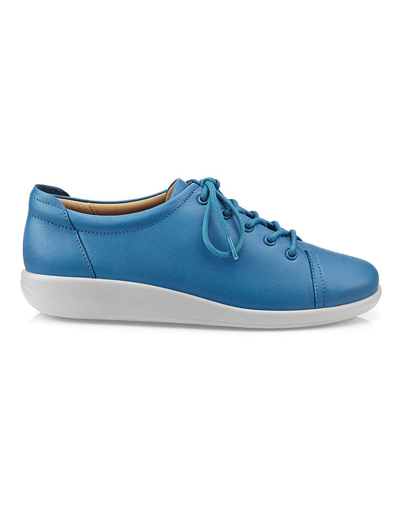 hotter dew extra wide lace up shoe