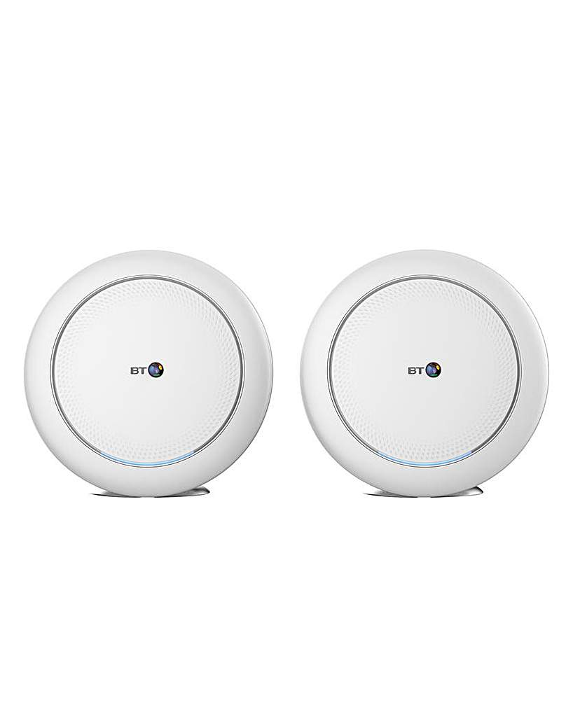 bt premium whole home wi-fi two discs