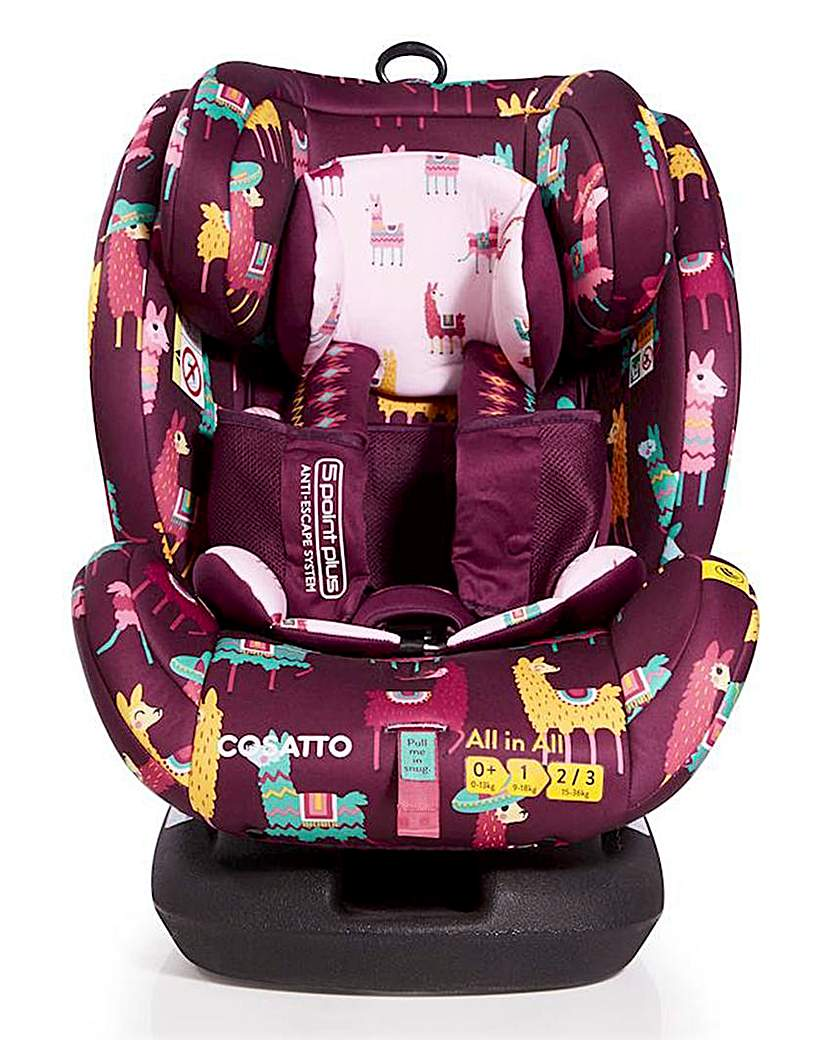 Image of Cosatto All in All Car Seat Llamarama