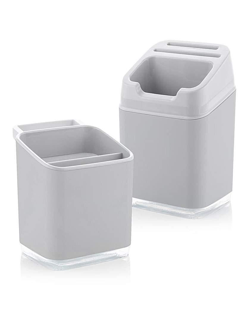 Sink Tidy and Utensil Holder Bundle