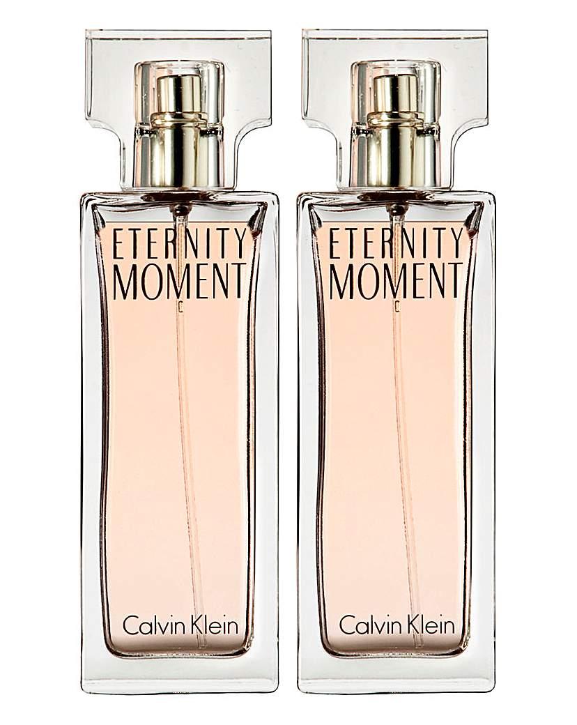 Calvin Klein Calvin Klein Eternity Moment 100ml BOGOF
