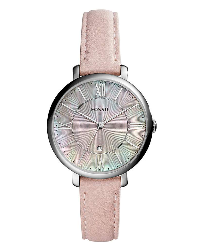 Fossil Ladies Jacqueline Pink Watch