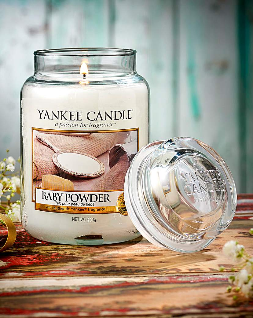 Yankee Candle Yankee Candle Baby Powder Candle