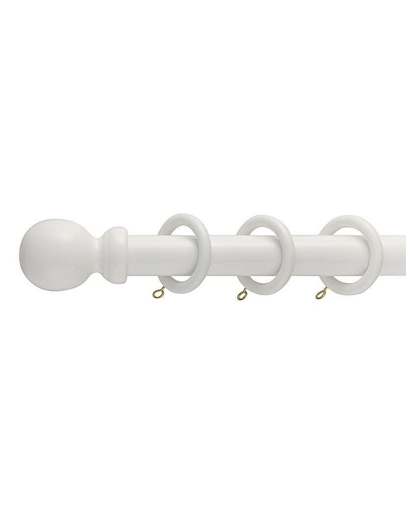 Image of 28mm Wooden Curtain Pole