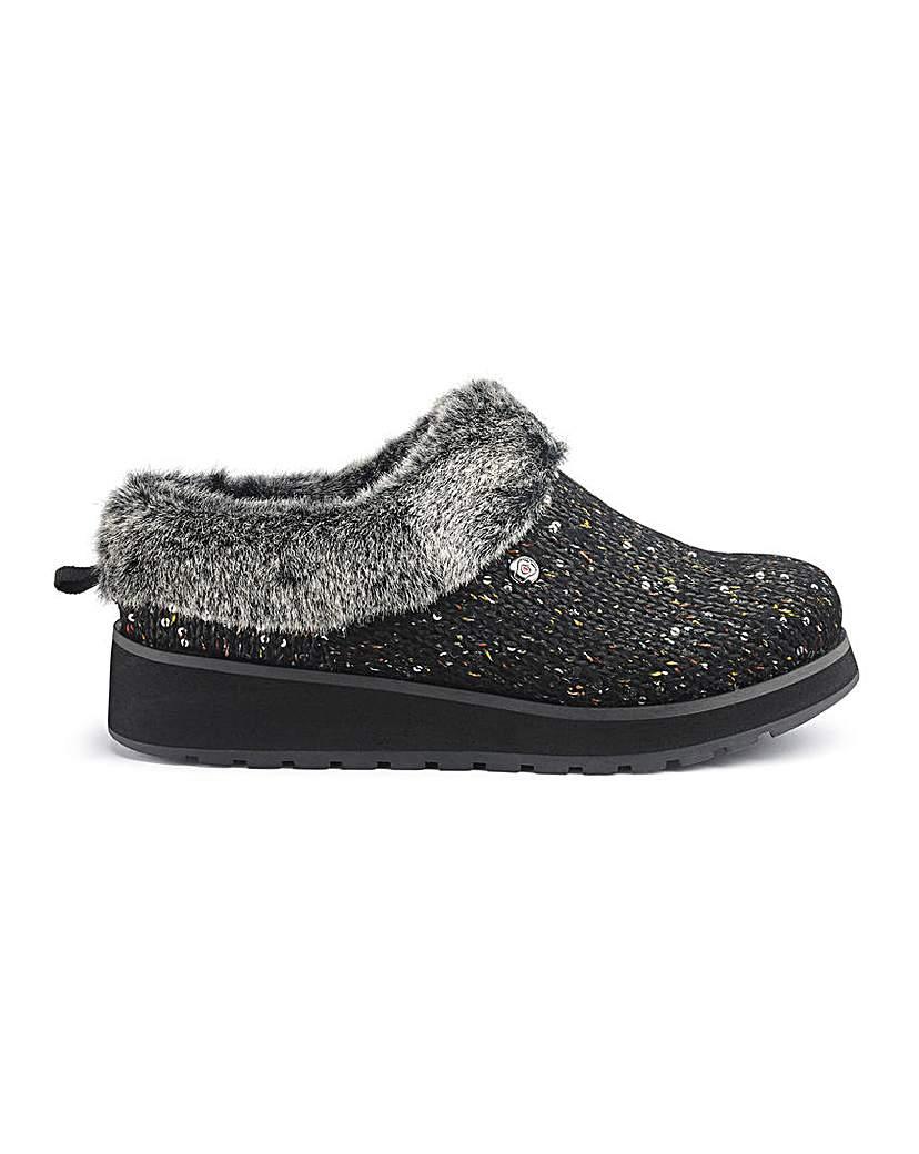 Skechers Glitter Mule Slippers
