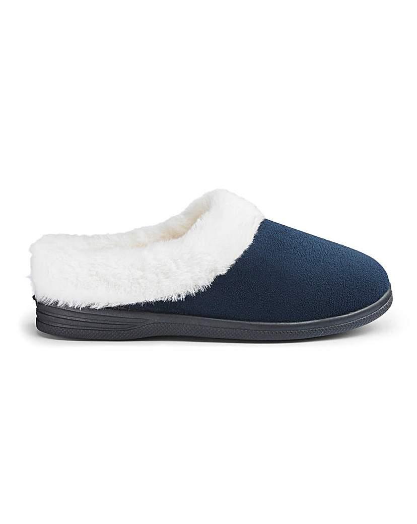 Cushion Walk Mule Slippers EEE Fit