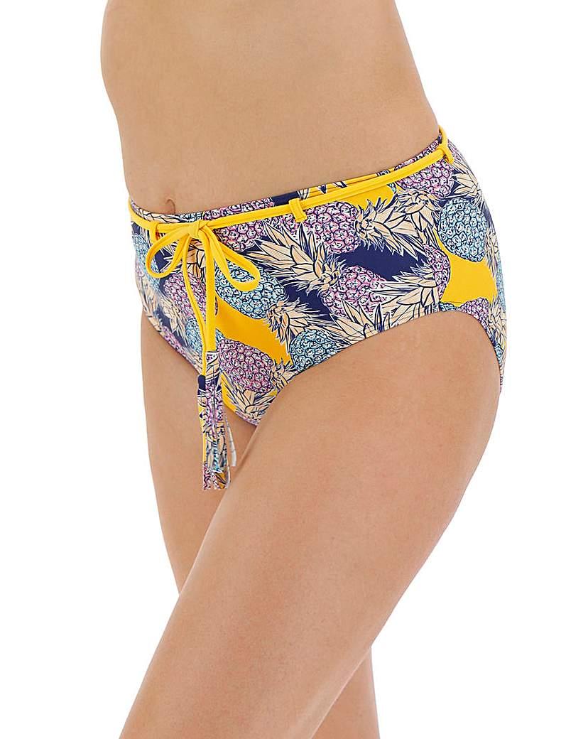 Simply Be High Waist Belted Bikini Brief