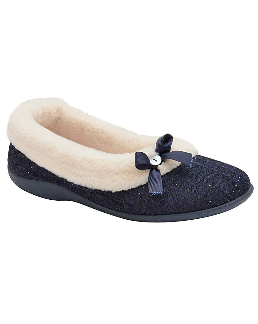 Dunlop Luisa women's slip-on slippers