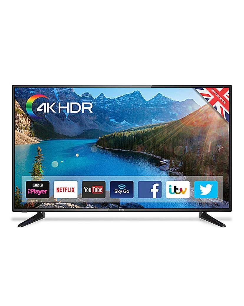 Cello 50in Smart 4K UHD TV