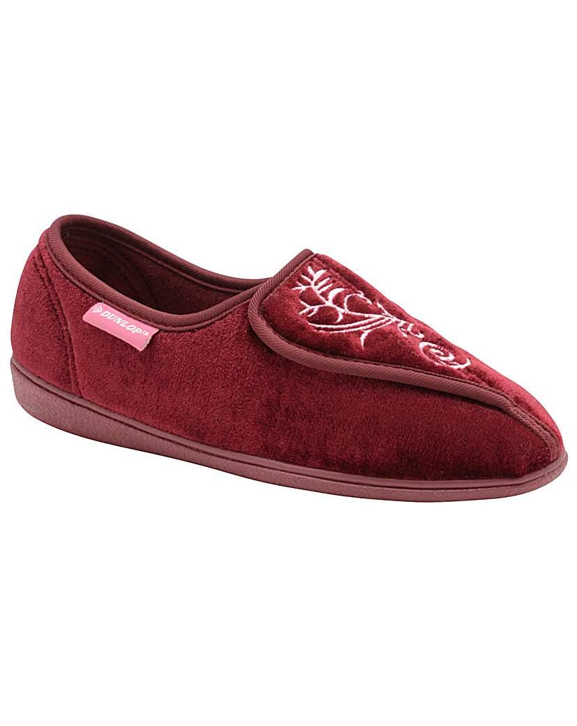 Dunlop Elena women's velcro slippers
