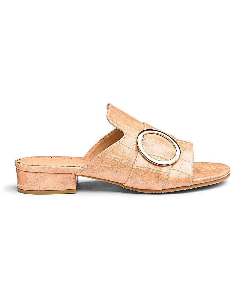JD Williams Flexi Sole Mule Sandals E Fit