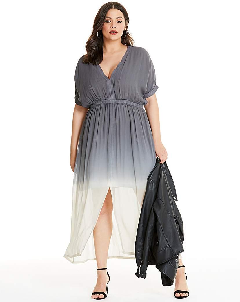Religion Dip Dye Maxi Dress