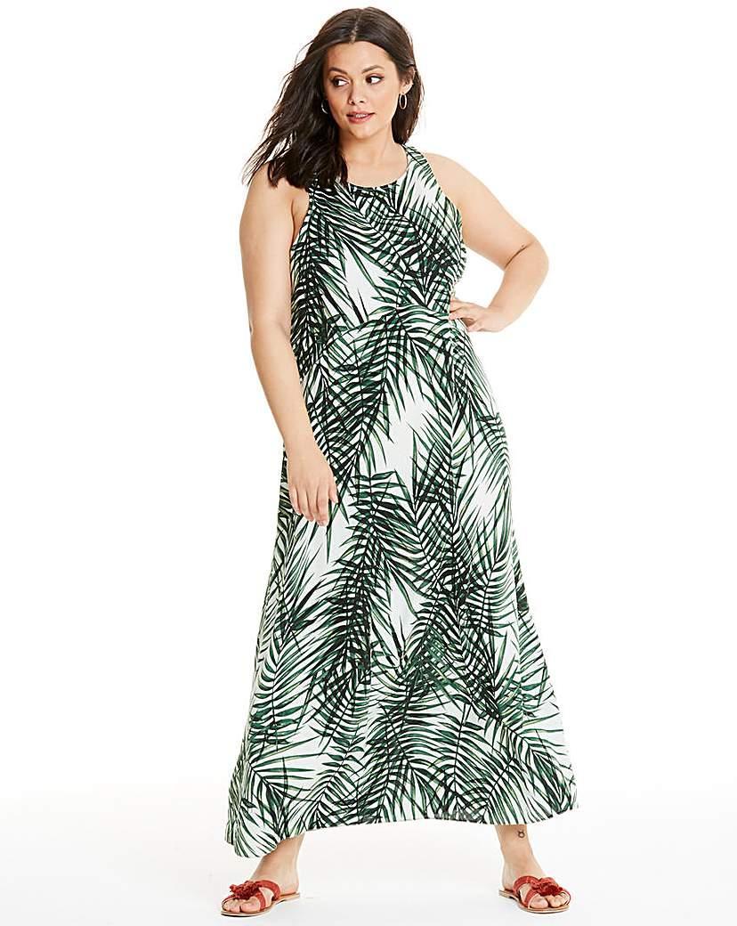 Apricot Apricot Tropical Maxi Dress