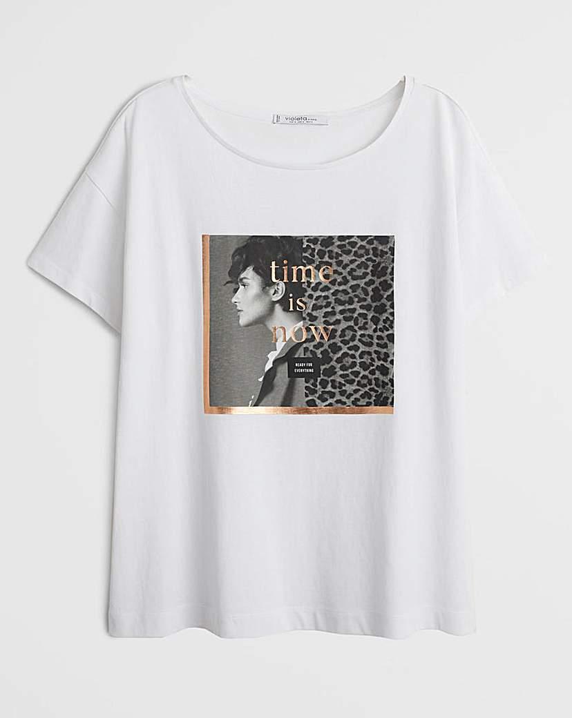 Violeta By Mango Animal T-Shirt