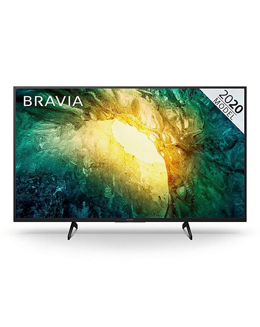 "Sony Bravia KD65X7052PBU 65 4K Smart TV"""