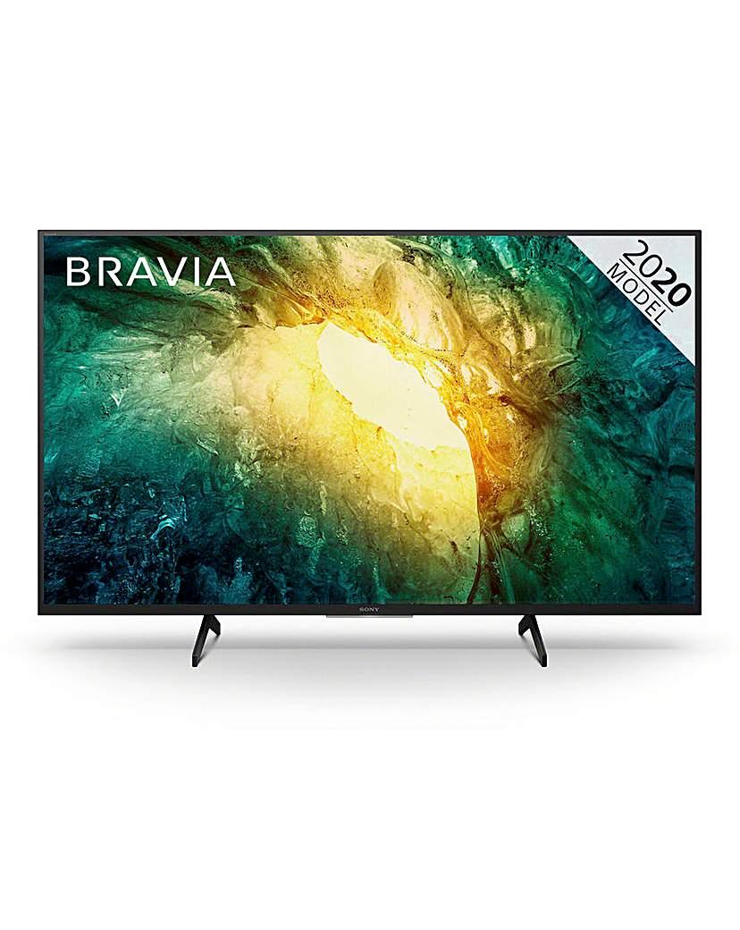 "Sony Bravia KD49X7052PBU 49 4K Smart TV"""
