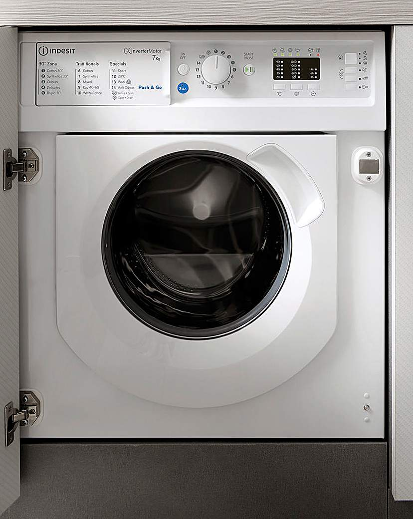 INDESIT BIWMIL71252UKN Integrated Washer