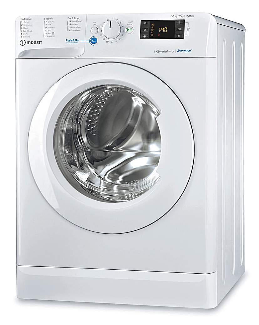 INDESIT BDE1071682XWUKN Washer Dryer