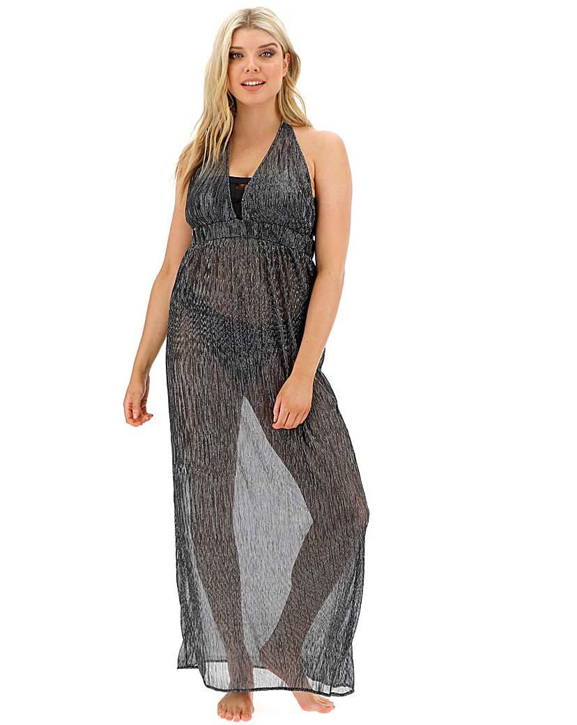 Simply Be Plisse Grecian Beach Dress