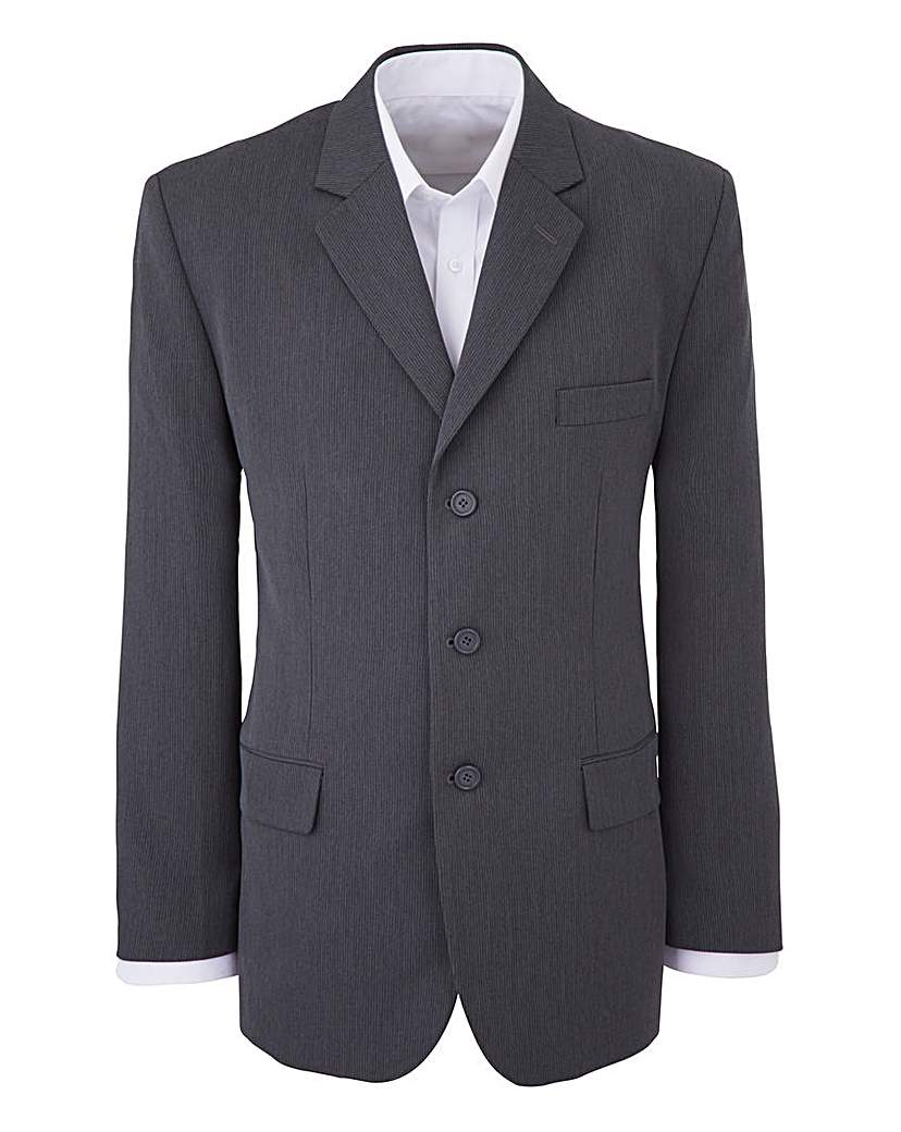 Jacamo Rib Jacket Reg
