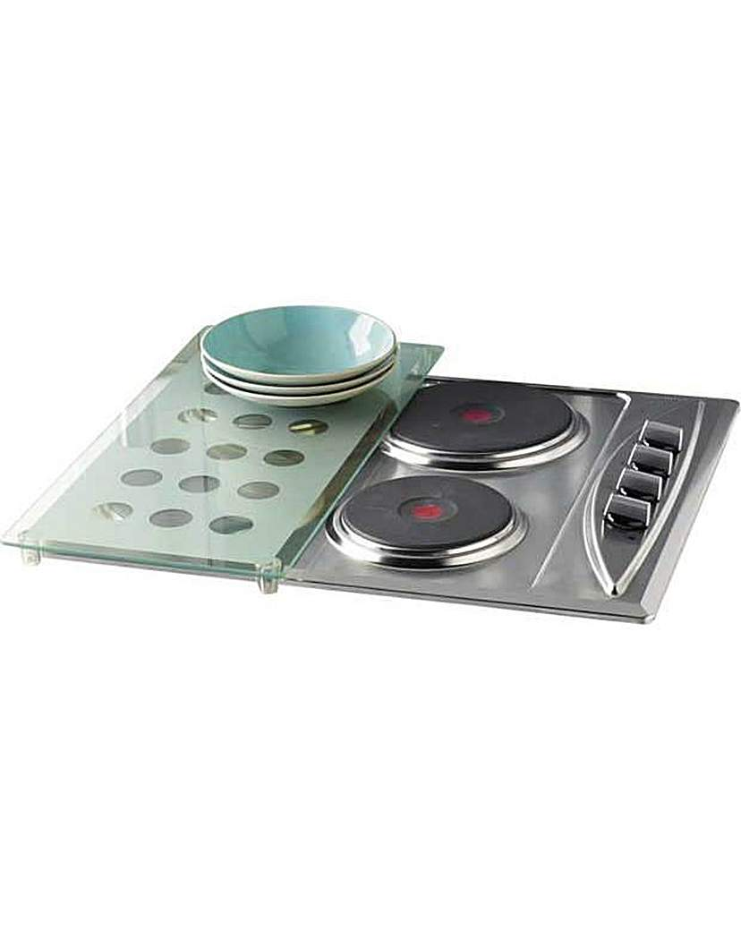 Glass Hob Cover with Dots