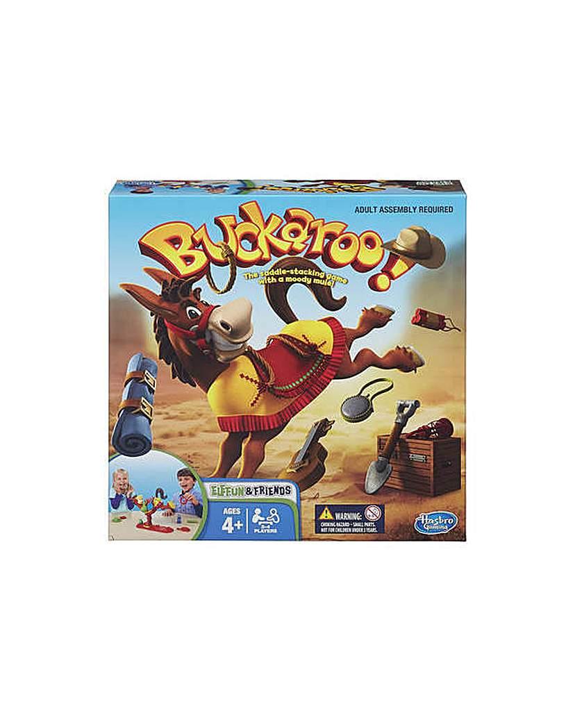 Image of Buckaroo Game from Hasbro Gaming.