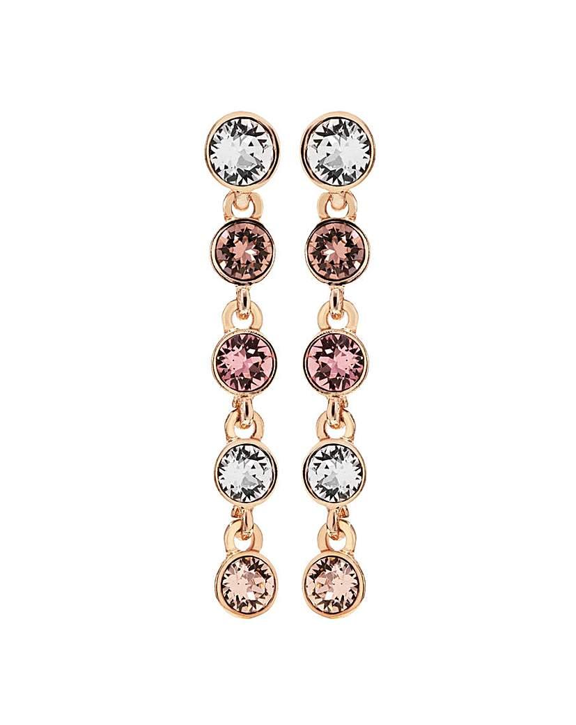 Swarovski Jon Richard Rose Gold Earrings