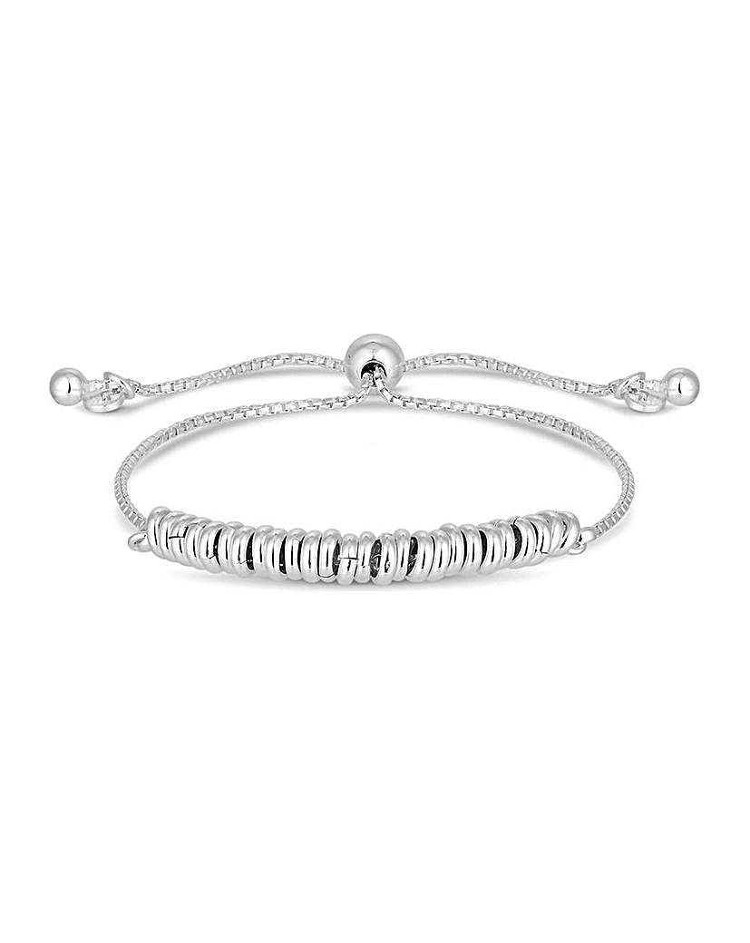 Simply Silver Multi Bead Toggle