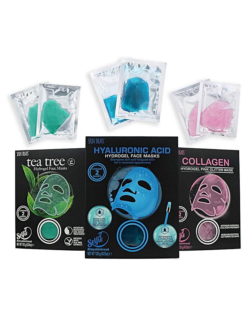 Skin Treats Hydrogel Face Masks