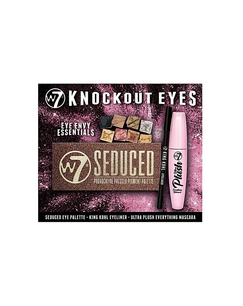 Technic W7 knockout eyes