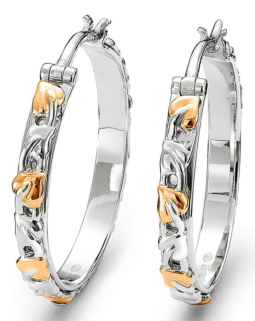 Clogau Clogau Tree of Life Hoop Earrings