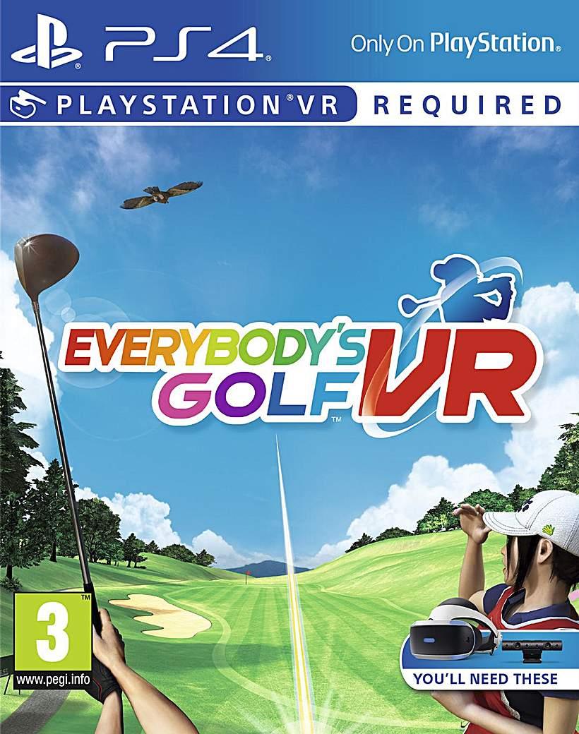 Everybodys Golf VR PS4