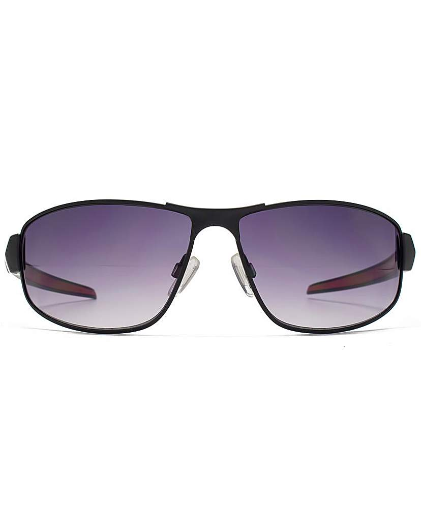 Image of FCUK Metal Sports Wrap Sunglasses