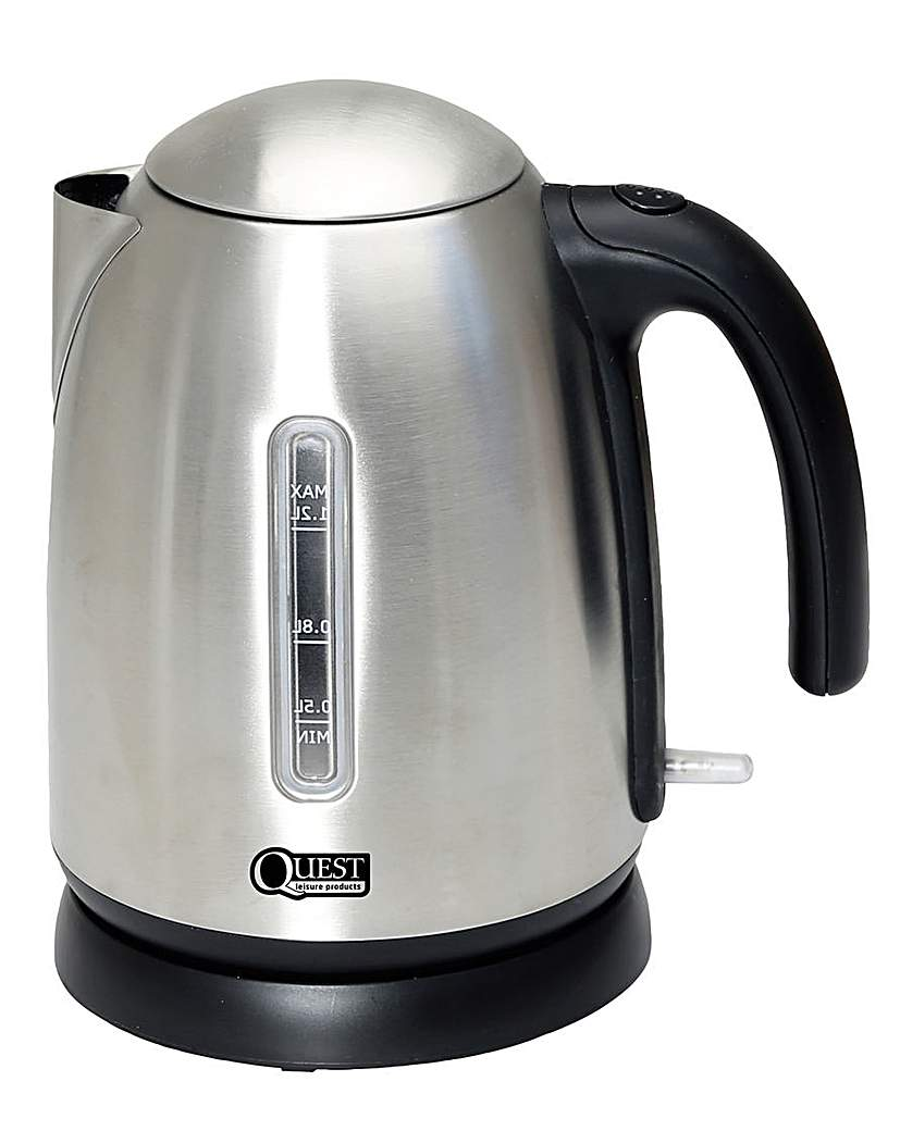 Image of 1.2L Low wattage stainless steel kettle